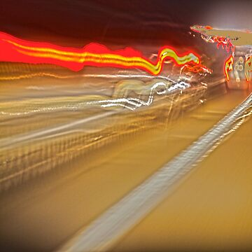 Speed of Light  -  Long Exposure by Buckwhite