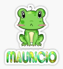 Mauricio Frog Sticker