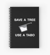 Save a Tree - Use a Tabo Spiral Notebook