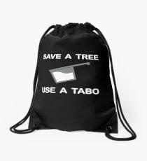 Save a Tree - Use a Tabo Drawstring Bag