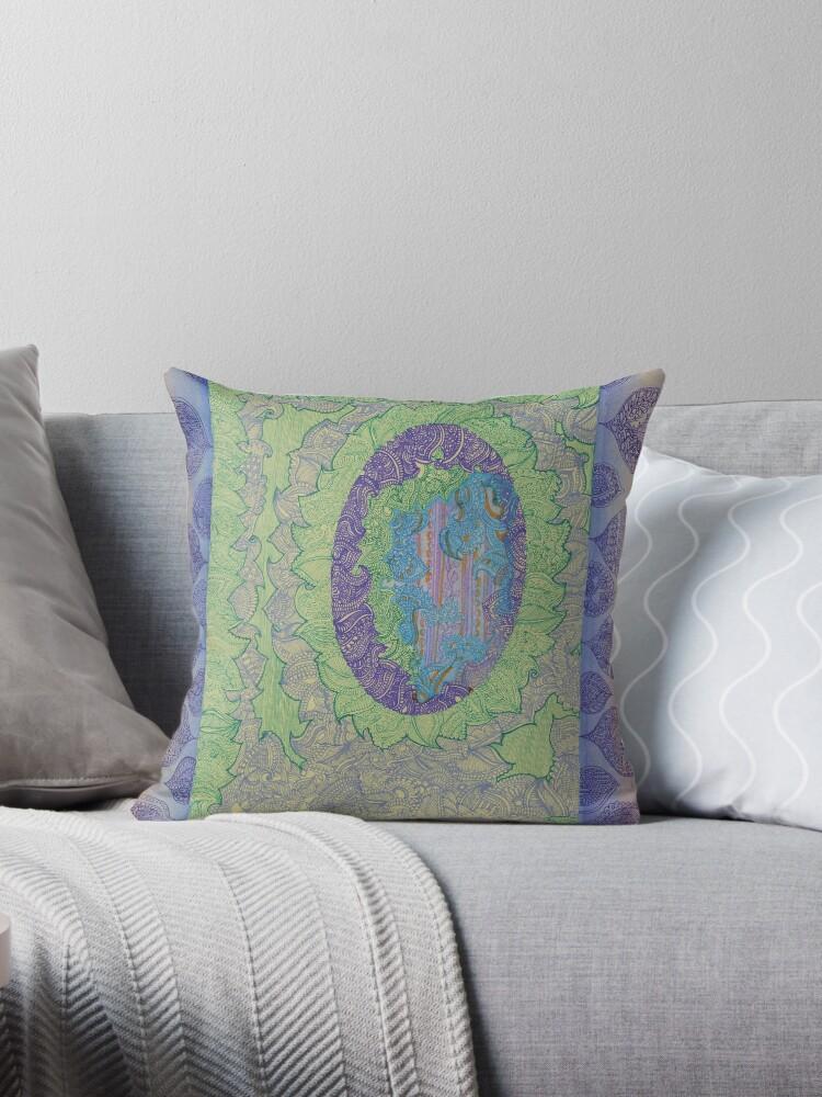 Purple Leaves - The Qalam Seriers by Marium Rana