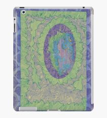 Purple Leaves - The Qalam Seriers iPad Case/Skin