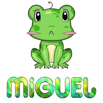 Miguel Frog by Shirtiker