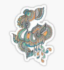 Denim Sticker
