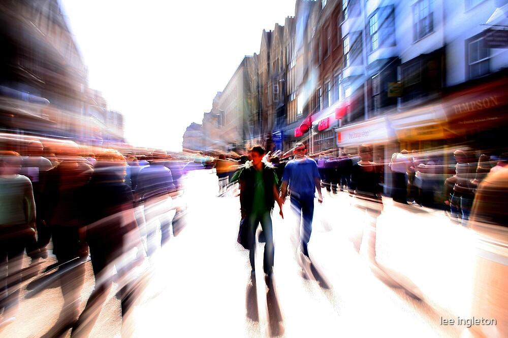 Oxford street cornamarket by lee ingleton