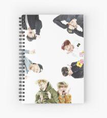 BTS Run Ep 33 Memes Spiral Notebook