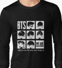 BTS WE ARE BULLETPROOF Chibi Long Sleeve T-Shirt
