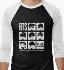 BTS WIR SIND BULLETPROOF Chibi Baseballshirt mit 3/4-Arm