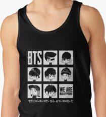 BTS WE ARE BULLETPROOF Chibi Tank Top