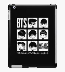 BTS WE ARE BULLETPROOF Chibi iPad Case/Skin