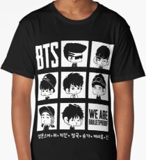 BTS WE ARE BULLETPROOF Chibi Long T-Shirt