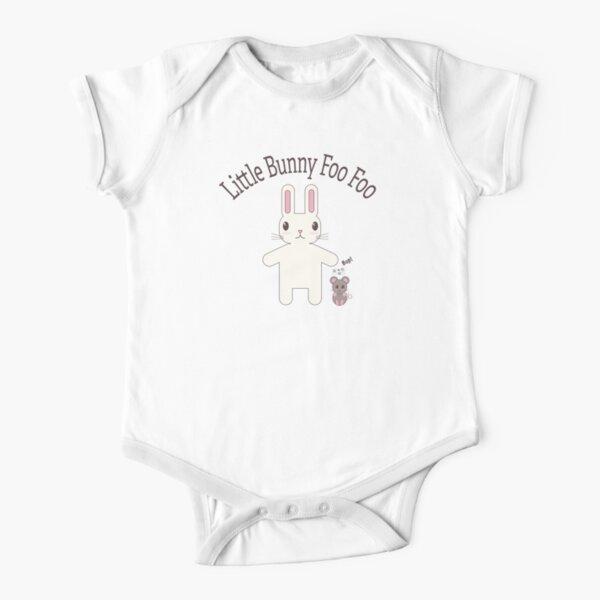 Little Bunny Foo Foo Short Sleeve Baby One-Piece