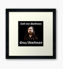 gnu/stallman Framed Print