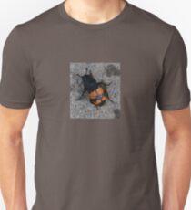 Beetle: orange and black stripe Unisex T-Shirt