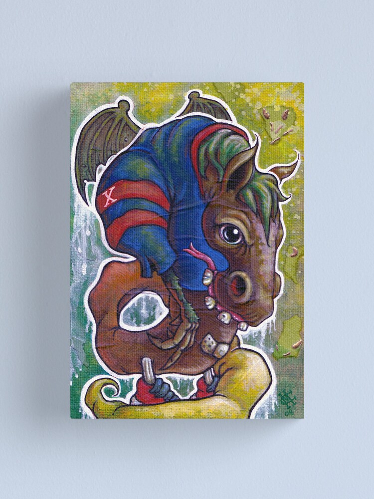 Alternate view of The Jersey Devil Canvas Print