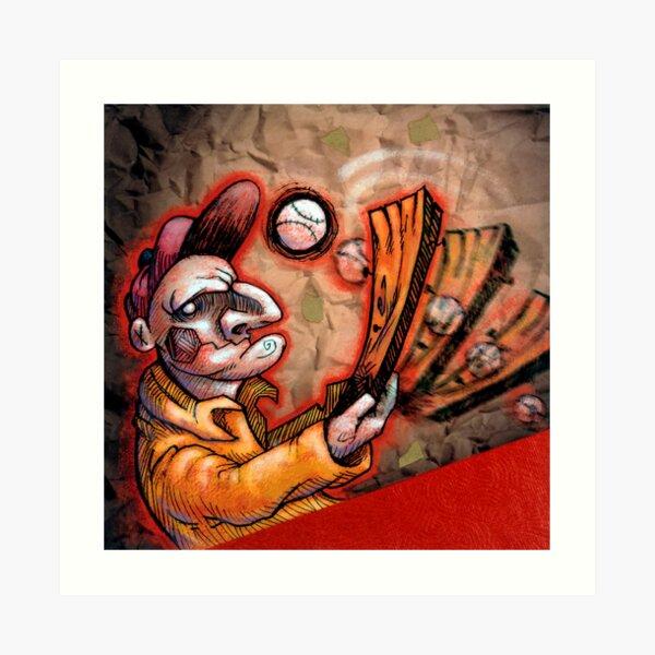 Swingin' Punch Art Print