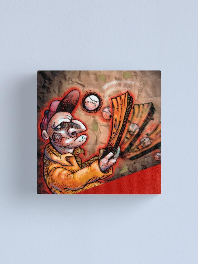 Alternate view of Swingin' Punch Canvas Print