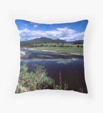 Manning River #2 Throw Pillow