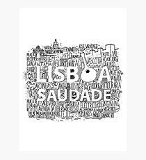 Lisboa Photographic Print