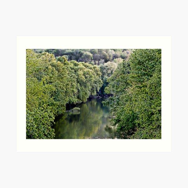 Cumberland River Art Print