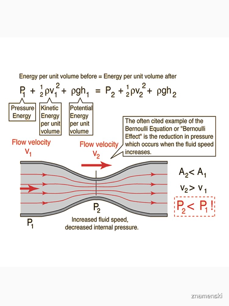 #BernoulliEquation #Physics #Hydrodynamics #statement conservation energy principle flowing qualitative by znamenski