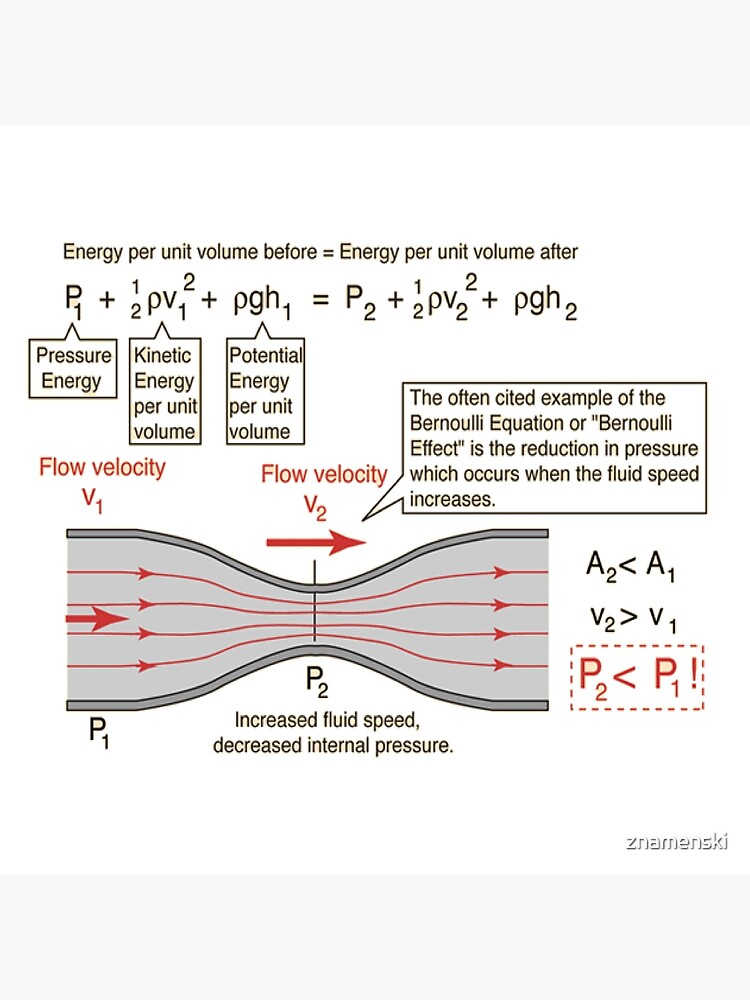 #BernoulliEquation #Physics #Hydrodynamics #statement conservation energy principle flowing qualitative by znamenski