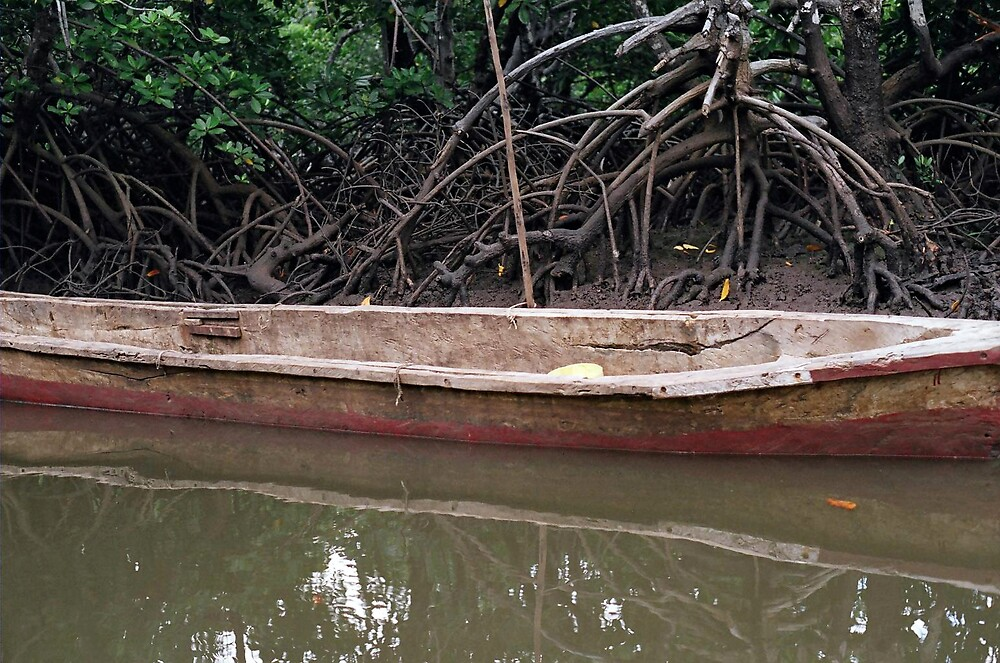 Boat in Kenya by nicksutton