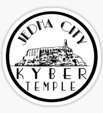 Star Wars Jedha Kyber Temple Sticker