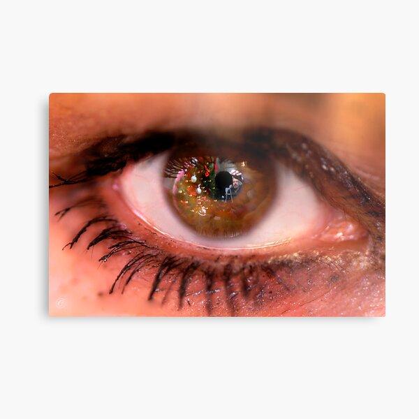 Eye See A Self Portrait Metal Print