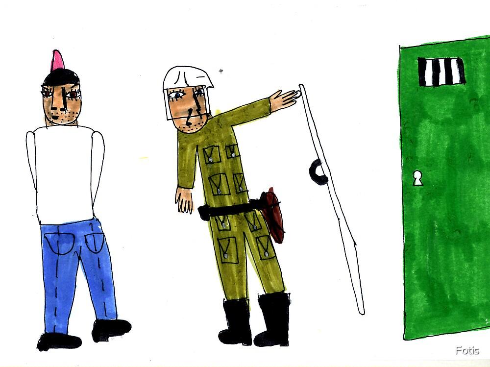 The Arrest by Fotis