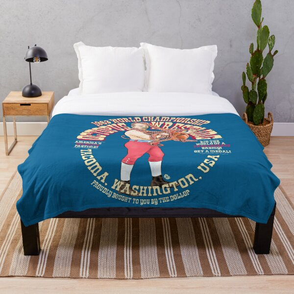 The Dollop - Octopus Wrestling Throw Blanket