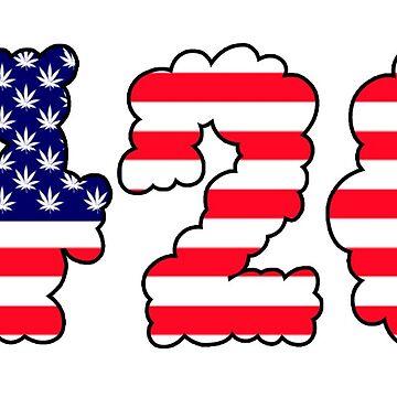 420 USA by nonchalant