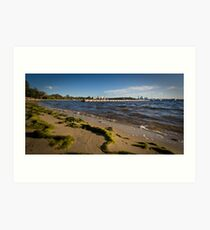 Matilda Bay Beach Art Print