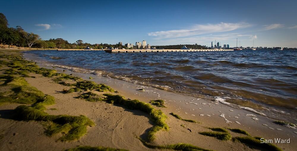 Matilda Bay Beach by Sam Ward