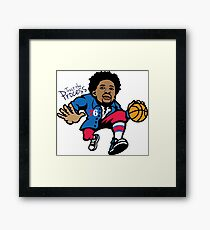 Trust. The. Process. Framed Print