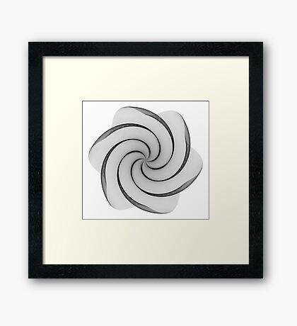 Polar Flower I Framed Print