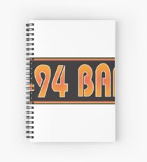 The I-94 Bar Spiral Notebook