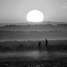 sunset by ketut suwitra