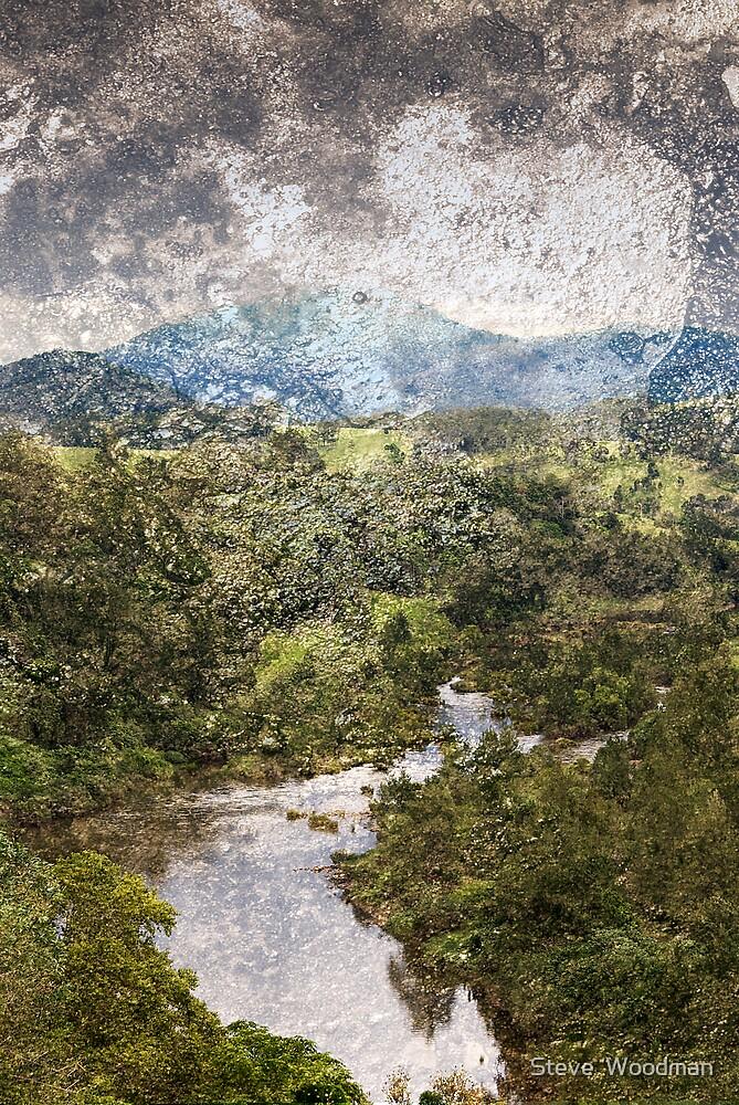 Manning River by Steve  Woodman