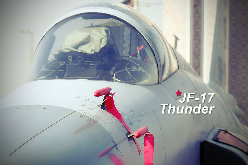 J F17 Thunder by Sheraz Khan