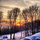 Winter sunset by Eugenio