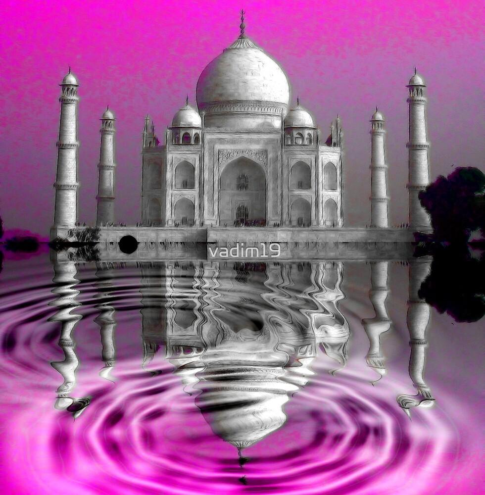 Taj Mahal, Agra, India by vadim19