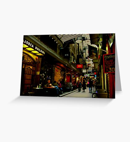 Centre Place Greeting Card