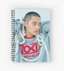 D.O - exo universe Spiral Notebook