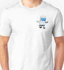 Blur Milky carton pixel art Unisex T-Shirt