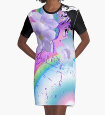 Rainbow Floats Graphic T-Shirt Dress