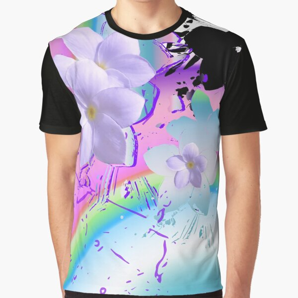 Rainbow Floats Graphic T-Shirt