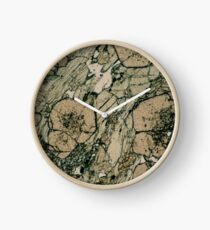 Garnet Crystals  Clock