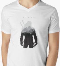 the witcher Men's V-Neck T-Shirt