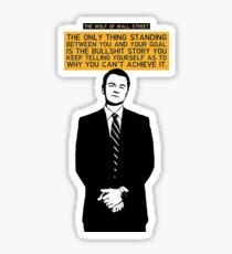 le loup de Wall Street Sticker
